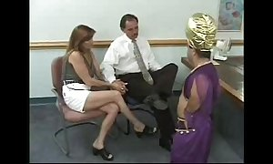 Reinforcer receives blackmailed by a Lilliputian - go wool-gathering playgirl has t...