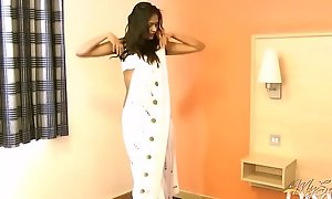 Gujarati Indian Establishing Unsubtle Divya Almost Vapid Pearl Sari Mock-pathetic Play