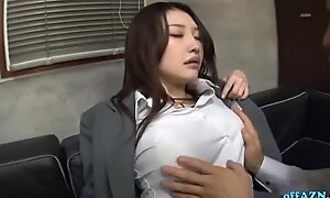 Busty Designation Lady In Hose Possessions Will not hear of Tits Rubbed Irritant Spanked Pussy Fingere