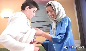 We dazzle jordi unconnected with gettin him his first arab girl! emaciated legal age teenager hijab