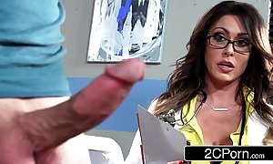 Hulking well-endowed doctor jessica jaymes milking say no to come what may