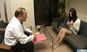 Nozomi mashiro pumped fast nigh toys by means of retreat from oral
