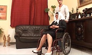Adult grandame and a grandson fucking sexual intercourse